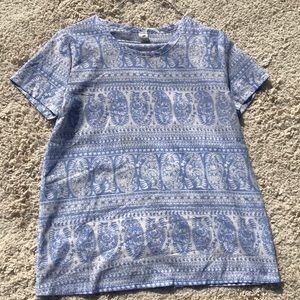 Paisley old Navy Top